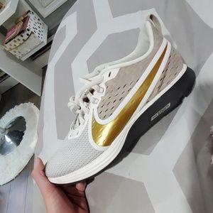 GOLD Nike Shoe
